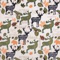 No Sew Throw Fabric Kit-Fall Deer