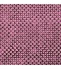 Home Decor 8\u0022x8\u0022 Fabric Swatch-Velvet Geo / Magenta