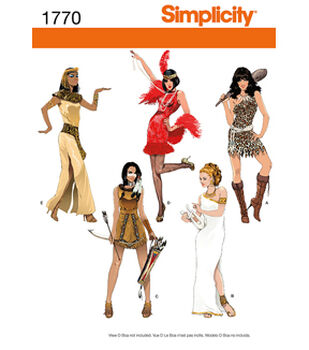 Simplicity Pattern 1770-Misses' Costumes