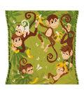 RIOLIS Cushion Counted Cross Stitch Kit 11.75\u0022X11.75\u0022-Jungle Cushion