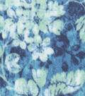 Anti-Pill Fleece Fabric -Marina Floral