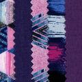 Mini Charm Cotton Fabric Pack 2.5\u0027\u0027x2.5\u0027\u0027-Purple