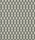 Robert Allen @ Home Upholstery Fabric 55\u0022-Graphic Fret Greystone