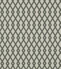 Home Decor 8\u0022x8\u0022 Fabric Swatch-Robert Allen Graphic Fret Greystone