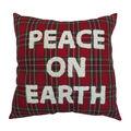 Handmade Holiday Christmas 18\u0027\u0027x18\u0027\u0027 Pillow-Peace on Earth