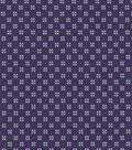 Quilter\u0027s Showcase Cotton Fabric 44\u0022-Grape Gray Ditsy Geometrics