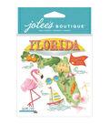 Jolee\u0027s Boutique 10 Pack Dimensional Stickers-Florida