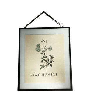 Simply Spring Wall Decor-Stay Humble