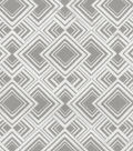 HGTV Home Upholstery Fabric-Diamond Reps/Mineral