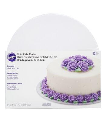 """Wilton 10"""" Cake Circles"""