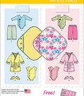 Simplicity Patterns 1042A Infants\u0027 Layette Outfits-Size XXS-L
