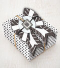 K&Company Black And White Bow Gift Embellishment