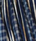 PKL Studio Upholstery Decor Fabric-Raja Plaid Baltic