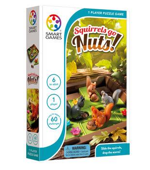 Squirrels Go Nuts Puzzle Game