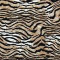 Ember Knit Prints Double Brushed Fabric-Tiger Print