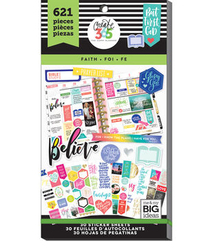 The Happy Planner Value Pack-Faith