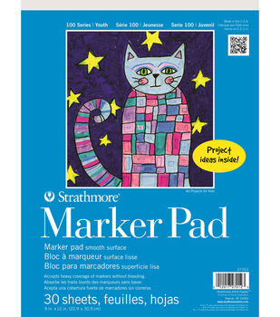 Strathmore 100 Series Marker, 9x12, 30 Sheets