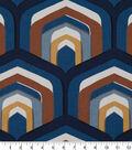 Robert Allen @ Home Upholstery Swatch 55\u0022-Piston Geo Cognac