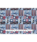 Patriotic Cotton Fabric 43\u0027\u0027-Patriotic Beachside