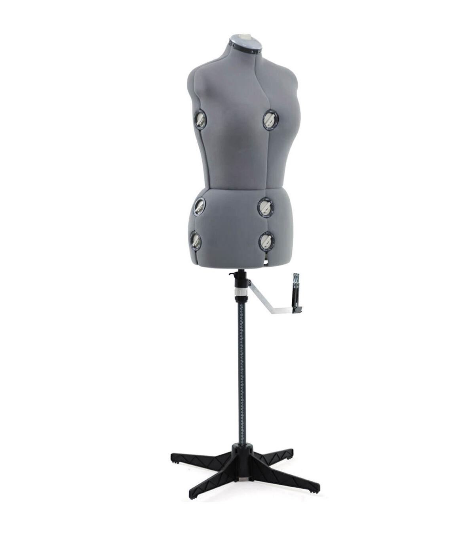 Singer Medium/Large Adjustable Dress Form Gray