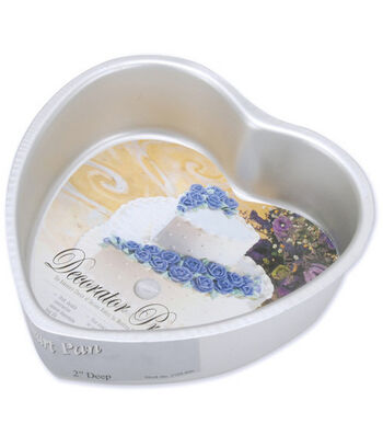 "Decorator Preferred Heart Cake Pan-6""X2"""