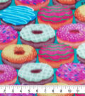 Super Fleece Fabric 58\u0027\u0027-Colorful Donuts