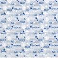 Nursery Flannel Fabric-Light Blue Good Night Words