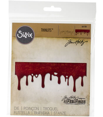 Sizzix Thinlits Dies-Drip Edge