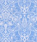 Snuggle Flannel Fabric -Damask