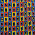 Batman Cotton Fabric-Colorful Pop