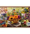 Jigsaw Puzzle 2000 Pieces 40\u0022X27\u0022-Rosemary\u0027s Birds