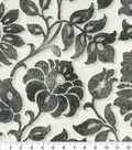 Waverly Upholstery Fabric 13x13\u0022 Swatch-Imaginary Charcoal