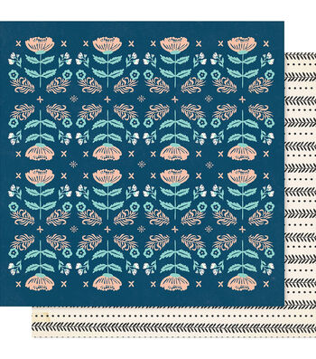 """Maggie Holmes Willow Lane Double-Sided Cardstock 12""""X12""""-Cherish"""