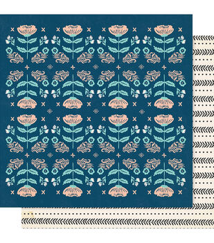 Maggie Holmes Willow Lane 12''x12'' Double-sided Cardstock-Cherish