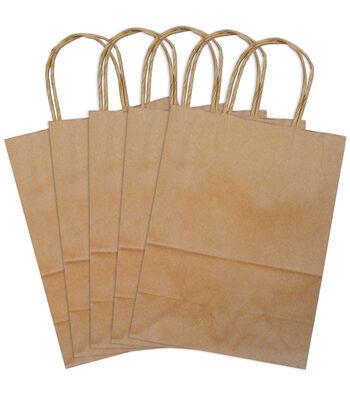 Stubby Bag-Kraft 5 pk