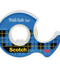 Scotch Wall Safe Tape Dispenser with Removable Tape