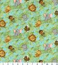 Nursery Flannel Fabric 42\u0022-Tossed Babies