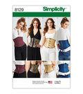 Simplicity Pattern 8129 Misses\u0027 Waist Cincher Corsets-Size H5 (6-14)