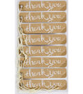 Jolee\u0027s Boutique 8 Pack 4\u0027\u0027x7\u0027\u0027 Kraft Tags-Thank You