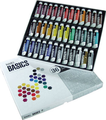 Liquitex Basics Acrylic Paint 22ml 36/Pkg-Assorted Colors
