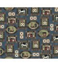 Country Patch Cotton Fabric