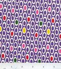Home Essentials Lightweight Decor Fabric 45\u0022-Oh My Purple