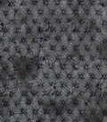 Keepsake Calico Cotton Fabric 43\u0022-Gray & Black Tie Dye