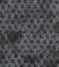 Keepsake Calico Cotton Fabric 43\u0022-Gray & Black Tie Dye