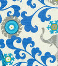 P/K Lifestyles Outdoor Fabric-Menagerie Sapphire