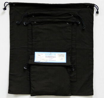 Wear'm Organizer Bags Black Value Pack