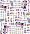 Disney Minnie Mouse Cotton Fabric -Minnie & Daisy