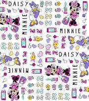 Disney Minnie Mouse Cotton Fabric 43''-Minnie & Daisy, , hi-res