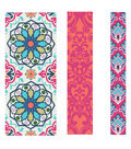 Buttercream Olivia Collection Fabric Tape-Moroccan Pink