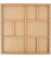"Kaisercraft Beyond The Page MDF 9-Frame Photo Display-13.5""X13.5, , hi-res"